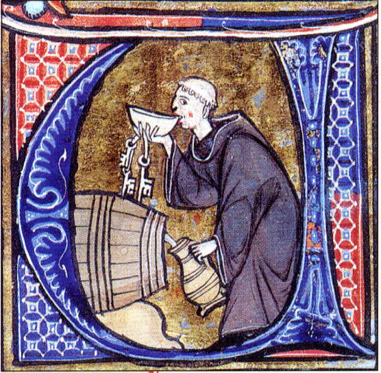 Were medieval monks obese