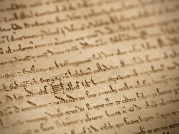 British Library's Magna Carta, photo credit Joseph Turp