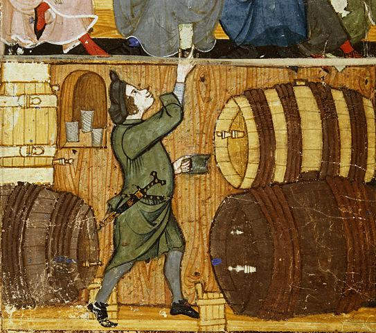 medieval drinking