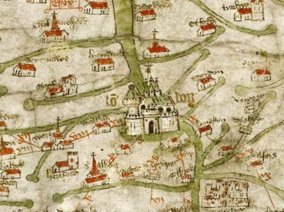 Show Me The Map Of England.Medieval Maps Of Britain Medievalists Net