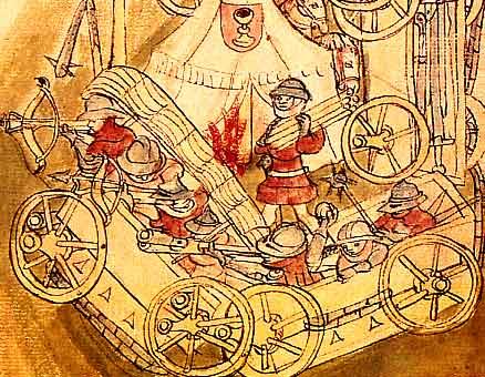 15th century Hussite wagon fort
