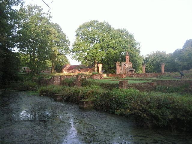 Ruins of Scadbury Manor- photo Ian Yarham