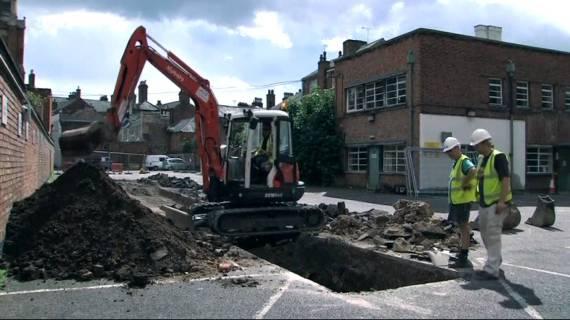 Richard III Car Park dig