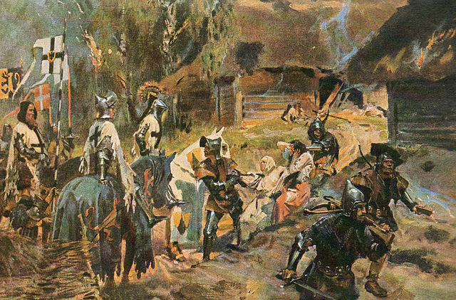 Teutonic Knights - by Wojciech Kossak (1857–1942)