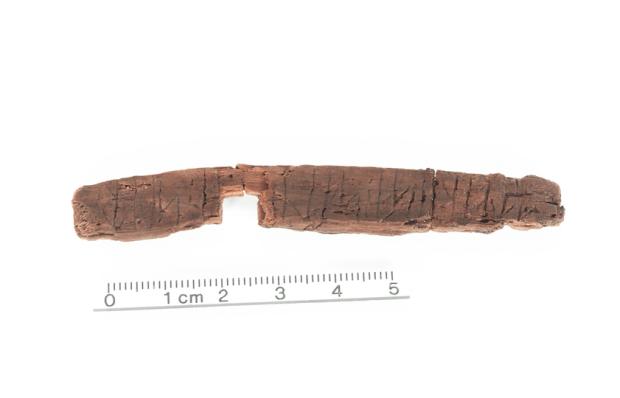 13th century runestick - photo courtesy Odense City Museums