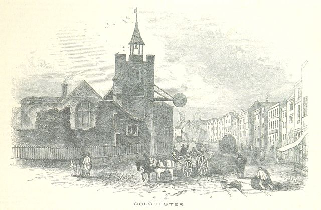 19th century image of Colchester