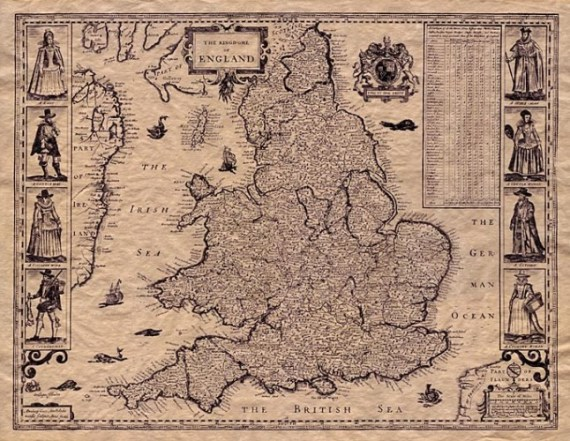 Old-Map-England
