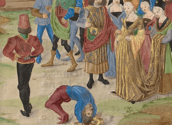 medieval buttocks - The Competition in Sittacene and the Placating of Sisigambis