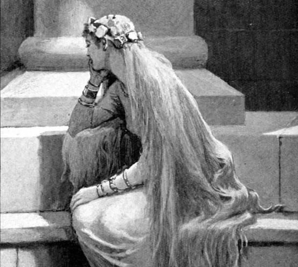Sif (1909) by John Charles Dollman