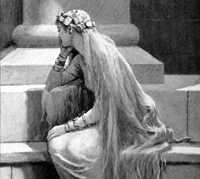 Sif (1909) by John Charles Dollman