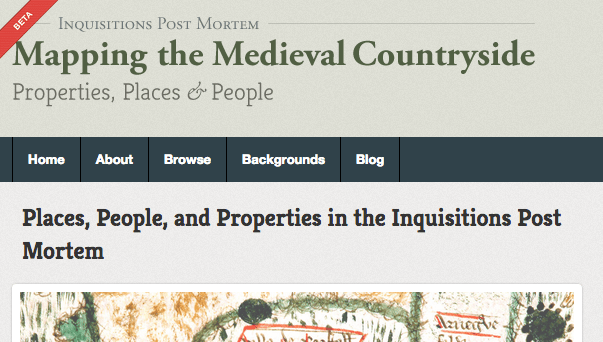 Mapping the Medieval Countryside