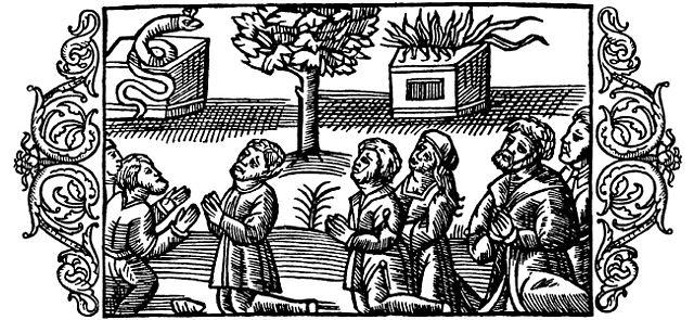 Olaus Magnus - On the Heathen Lithuanians Idolatrous  (1555)