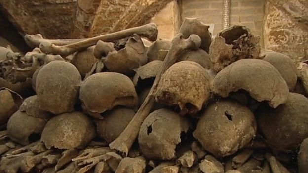 Rothwell Charnel Chapel. Photo courtesy of ITV.