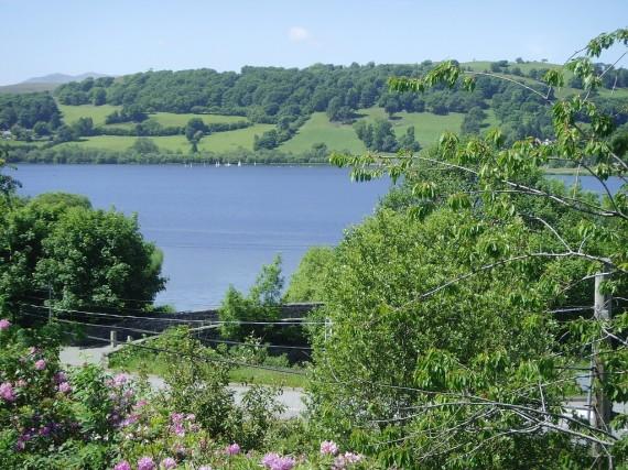 Bala lake from garden 2