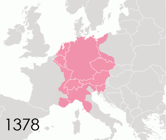 Holy Roman Empire in 1378 - Wikimedia Commons