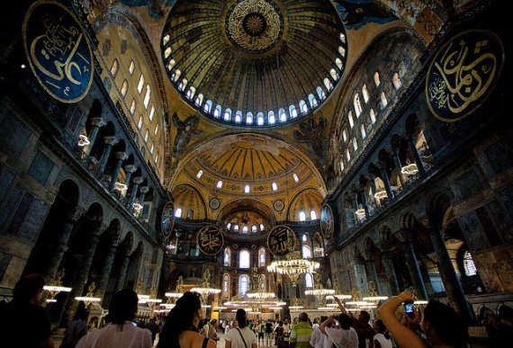 how hagia sophia was built - photo by Esther Lee / Flickr