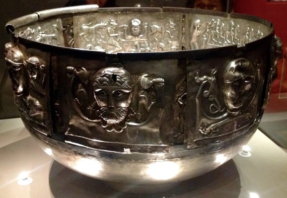 Gundestrup Cauldron Silver  Gundestrup, northern Denmark, 100 BC–AD 1 © The National Museum of Denmark. The British Museum. Photo by Medievalists.net