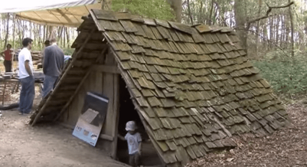 anglo saxon house reconstruction