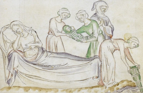 British Library - Royal 2 B VII  f. 22v