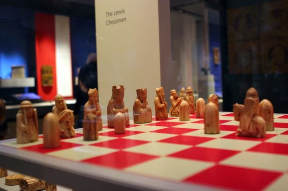 lewis chessmen ivory vikings - photo by Justin Ennis / Flickr