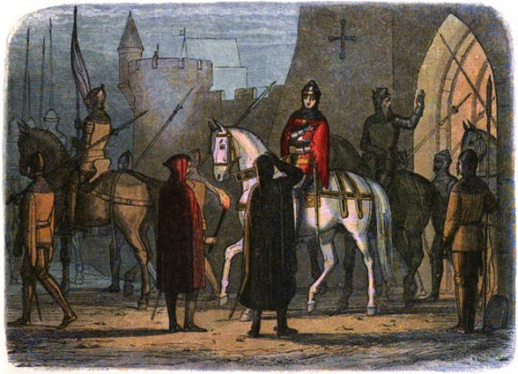 Henry V depicted in A Chronicle of England: B.C. 55 – A.D. 1485 (1864)