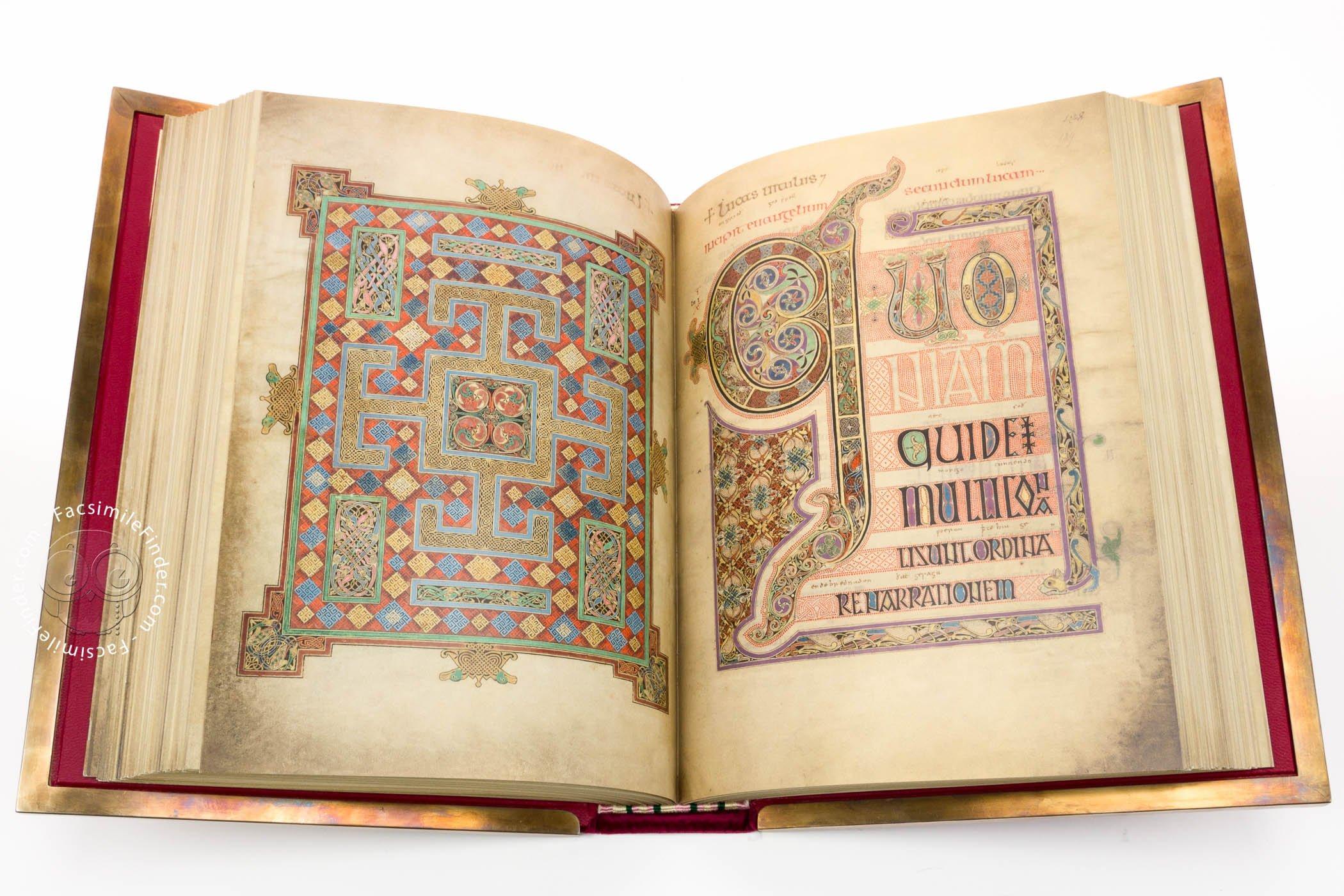 Image result for lindisfarne gospels images