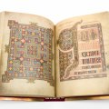 Woven Words in the Lindisfarne Gospels