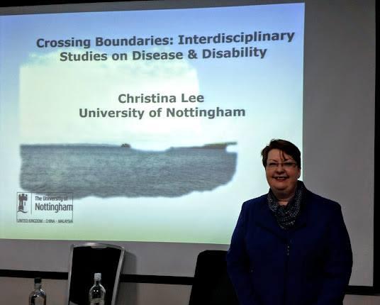 Dr. Christina Lee - Crossing Boundaries: Interdisciplinary Studies on Disease and Disability