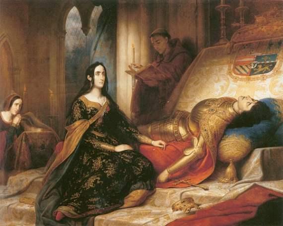 Joanna depicted by Charles de Steuben (1788–1856)