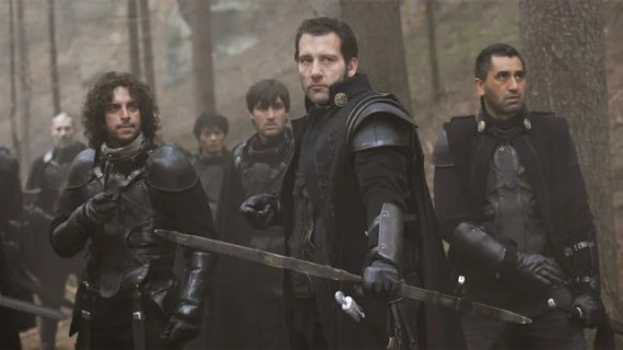"Clive Owen as Commander Raiden and his band of ""Un-Merry Men"" in, ""Last Knights""."