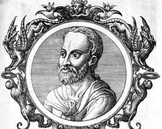 The eminent byzantine physician Paul of Aegina (ca. 625-690 AD).