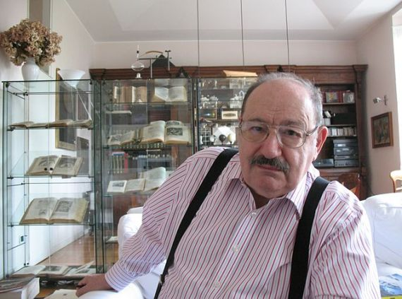 Umberto Eco - photo by Aubrey / Wikimedia Commons