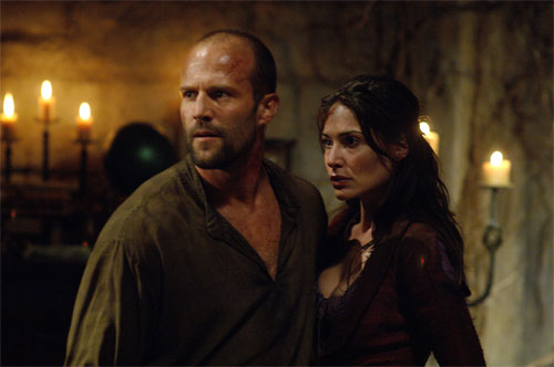 In the Name of the King: Farmer (Statham) and his wife, Solana (Forlani)