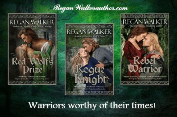 Medieval Warriors Series by Regan Walker