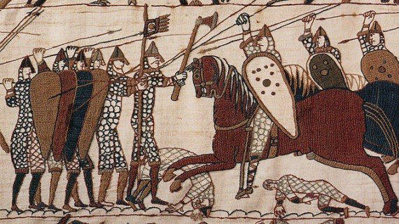 Bayeux tapestry scene