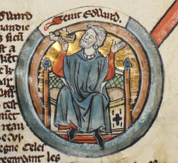 Edward the Confessor - British Library MS Royal 14 B VI