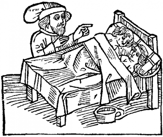 15th century illustration of sex
