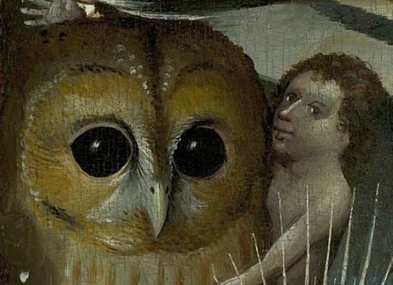 The Devil And His Works The Owl In Hieronymus Bosch