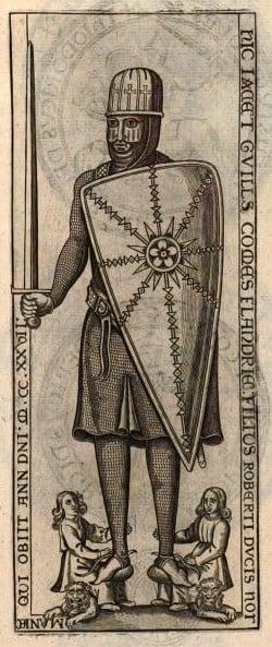 Guillaume Cliton (William Clito) Olivier De Wree,Lambertus Vossius - Les seaux des comtes de Flandre et inscriptions des chartes. (Wikipedia)
