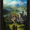 Build a medieval city with new video game