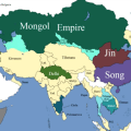 How the borders of Asia changed during the Middle Ages