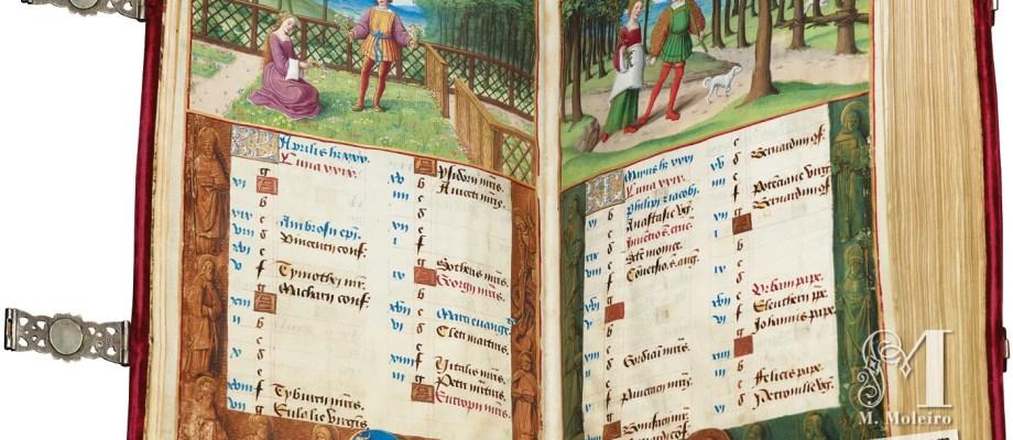 Medieval Manuscripts: Henry VIII's personal calendar