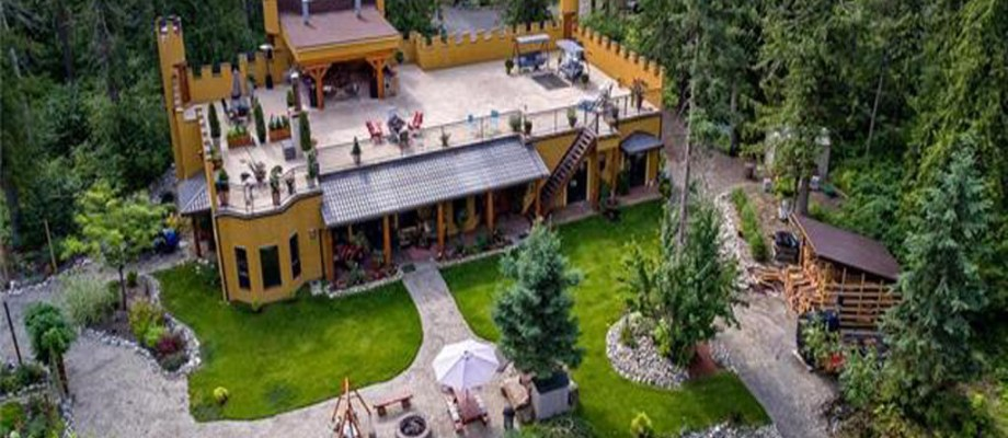 Castle for Sale in Western Canada