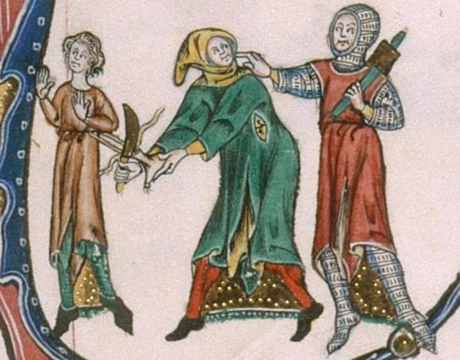 Image result for medieval manuscript thief