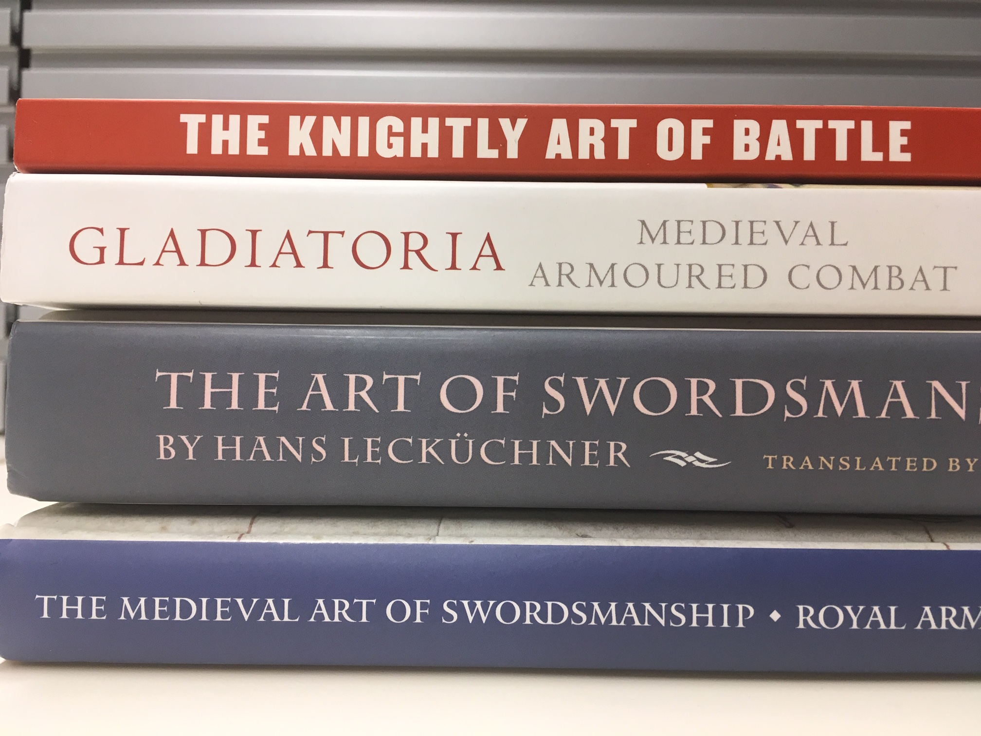 New Medieval Books: Fighting Manuals