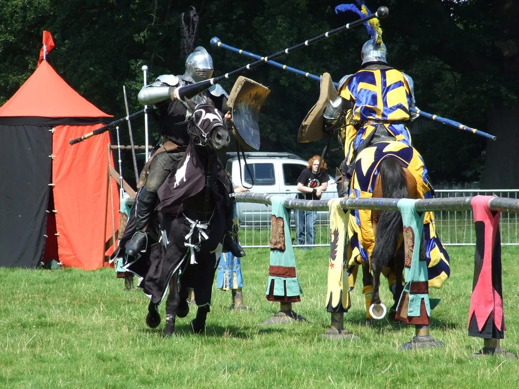 Now even jousting has instant replay