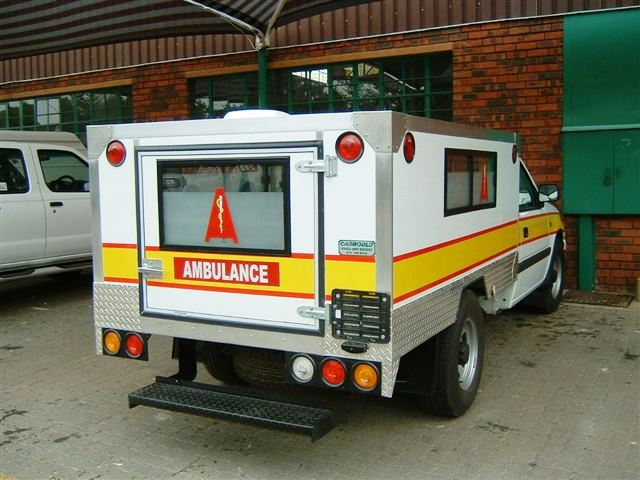 Underground Mine Ambulance