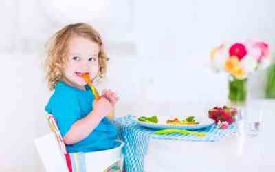 Picky Children Stay Without Healthy Food