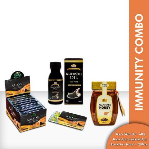Kalonji Immunity Booster Combo deal