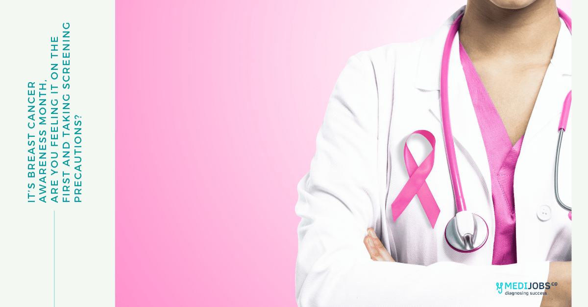 It's Breast Cancer Awareness Month, Are You Feeling it on the First and Taking Screening Precautions?
